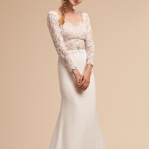 BHLDN Langston Wedding Gown Size 6 & 16